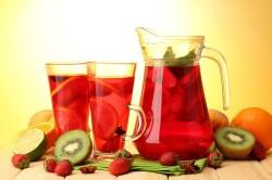 Польза ягодных компотов при ангине