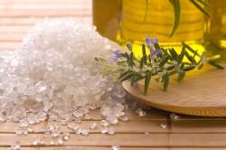 Лечение горла морской солью