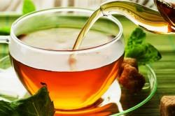 Травяные чаи при ангине
