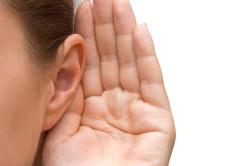 Ухудшение слуха при отите
