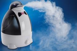Увлажнитель воздуха для облегчения приступов кашля
