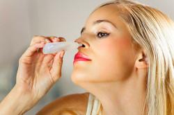 Капли в нос при лечении корочек в носу