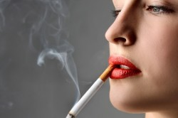 Курение - причина красного носа