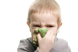 Насморк - побочный эффект воспаленных аденоидов
