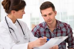 Обследование у врача для постановки даигноза