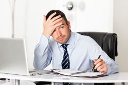 Стресс - причина корок в носу