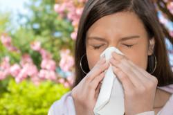 Аллергический насморк у человека