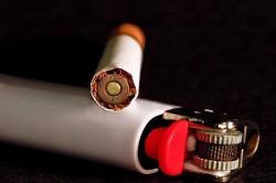 Курение - причина кашля