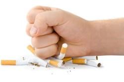 Отказ от курения при болях в горле