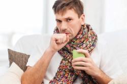 Сухой кашель при синусите