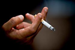 Курение - причина боли в горле