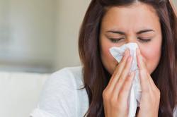 Отек в следствии аллергии