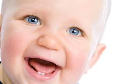 Прорезание зубов - причина боли в ухе