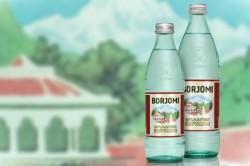 Минеральная вода Боржоми для приготовления лекарства от кашля
