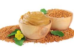 Горчица для приготовления лепешки от кашля