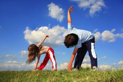 Польза упражнений на свежем воздухе для профилактик ангины