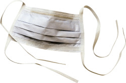 Марлевая повязка для предохранения слизистой оболочки носа от заболеваний