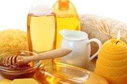 Мед для приготовления лепешки от фарингита