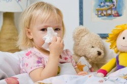 При прогревании у насморка у детей