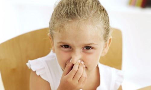 Лечение насморка у детей до 12 лет
