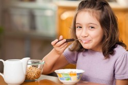 Орошение горла после еды