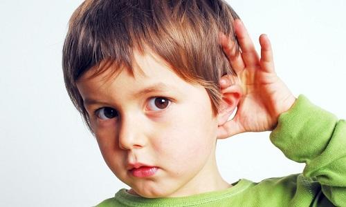 Особенности строения уха ребенка
