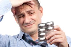 Сильные головные боли при полипах в носу