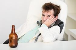 Отечность как реакция на алкоголь