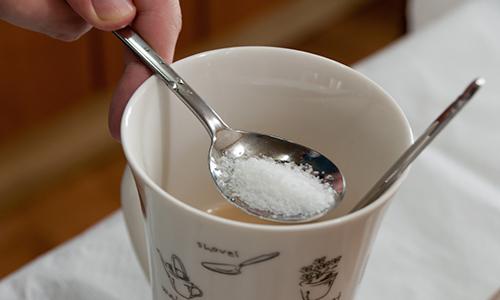 Раствор пищевой соли для промывания носа