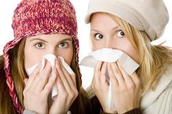 Сопутствие насморка кашлю