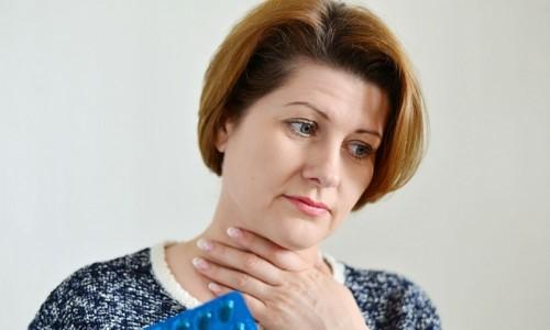 Заболевание ангиной