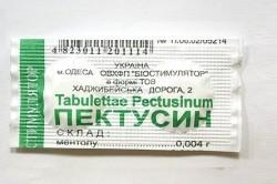 Пектусин для эффективного лечения мокрого кашля