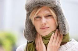 Боль в горле при ангине