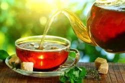 Польза чая при лечении кашля