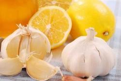 Лимон и чеснок от кашля