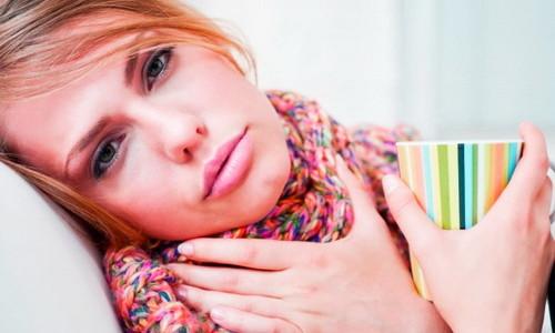 Проблема воспаления горла