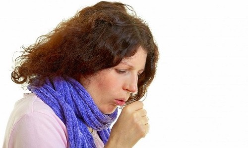 Проблема сухого кашля у человека