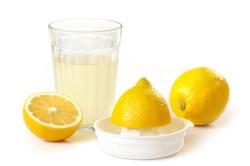 Лимонный сок для лечения гнойной ангины