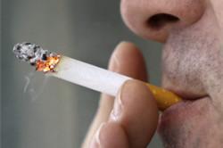 Курение - причина сухости в носу