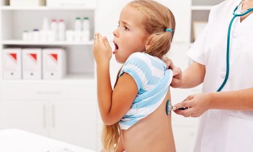 Проблема влажного кашля у ребенка
